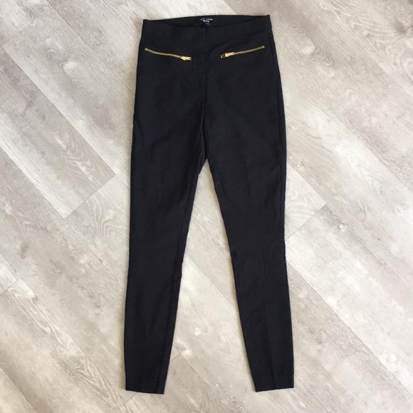 4e4734a875b ASOS Pants | New Look Petite High Waist Skinny Zipper Pant | Poshmark